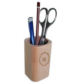 Portapenne in legno personalizzato