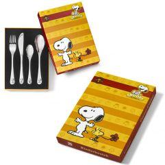 Posate bambini Snoopy personalizzate