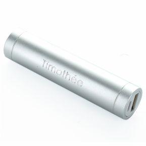 Power bank cilindrico inciso