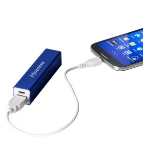 Power bank caricatore con incisione