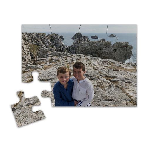 Puzzle calamita personalizzato 12 pezzi