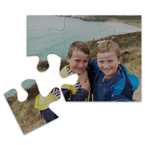 Puzzle calamita personalizzato 6 pezzi