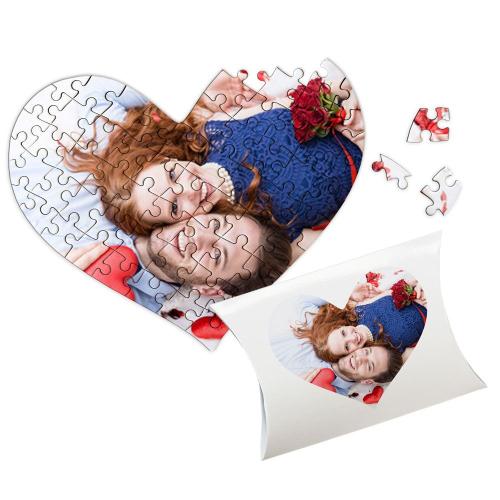 Puzzle cuore san Valentino