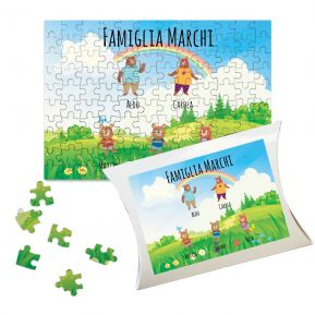 Puzzle personalizzato famiglia Orsetti