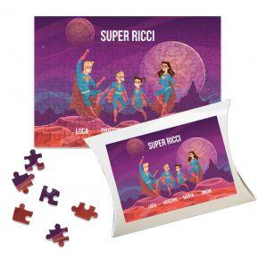 Puzzle personalizzato Supereroi