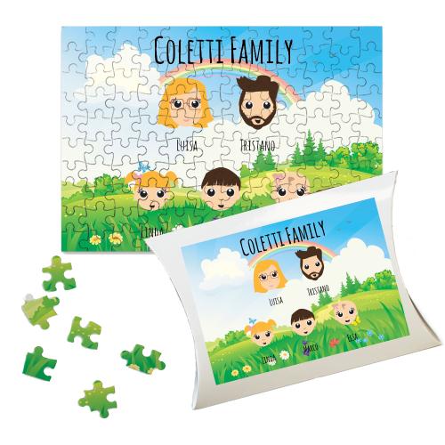 Puzzle personalizzato WeAreFamilly