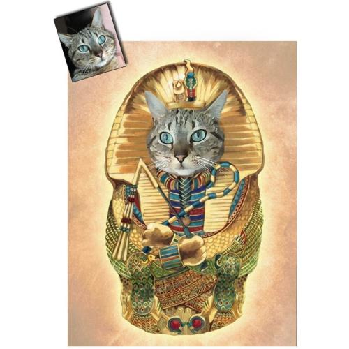 Ritratto gatto personalizzabile