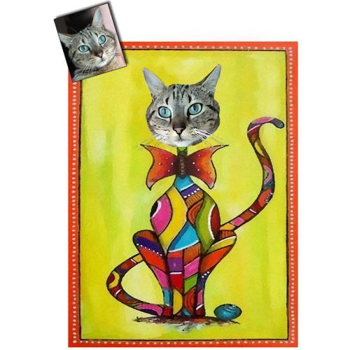 Ritratto del gatto
