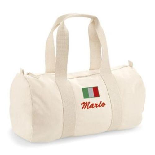 Borsa tela personalizzata Italia