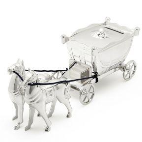 Salvadanaio carrozza principessa personalizzato