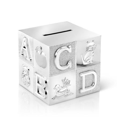 Salvadanaio cubo personalizzato