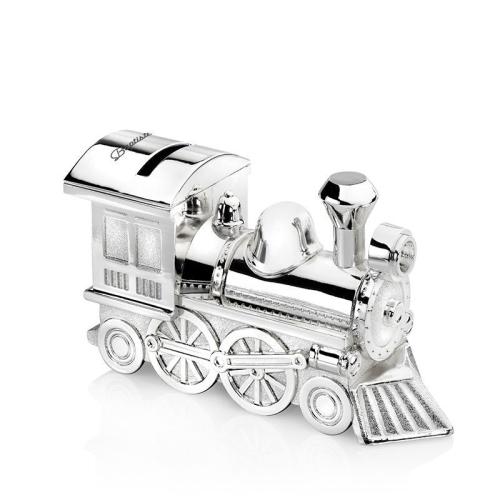 Salvadanaio locomotiva personalizzato
