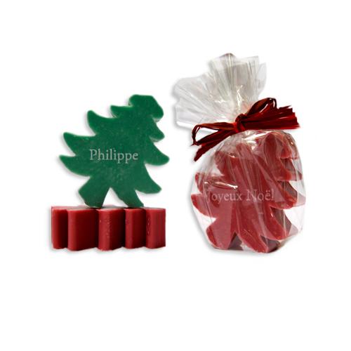 Saponetta di Natale personalizzata