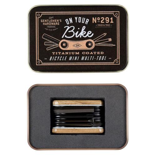 Attrezzo biciclette multifunzione Gentlemen's Hardware scatola