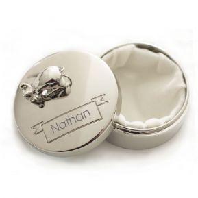 Scatola portadentini personalizzata topolino e nome