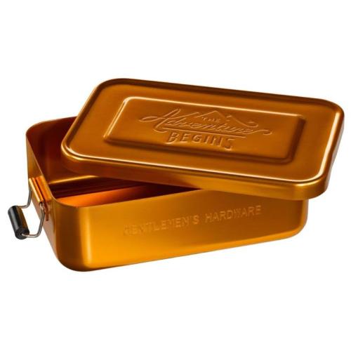 Lunch Box dorata The Adventure Begins