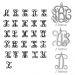 Anello con iniziali monogramma