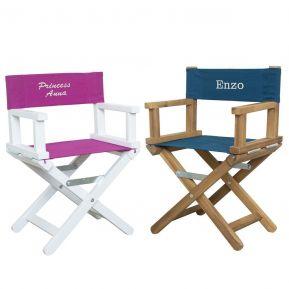 Sedia da regista babystar personalizzata (da 1 a 5 anni)