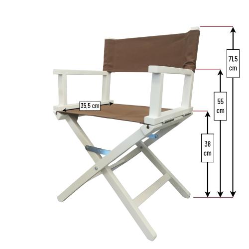 Misure sedia da regista bambino