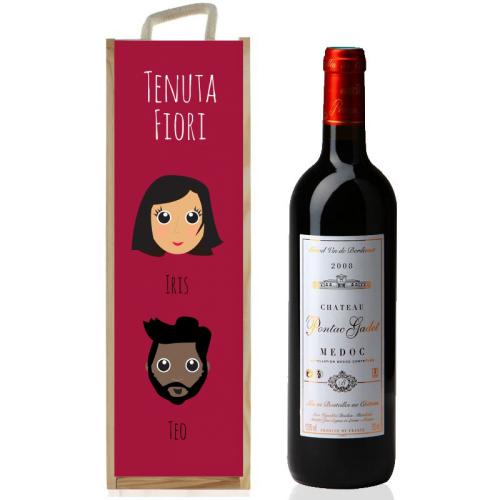 cassetta vino waf bordeaux