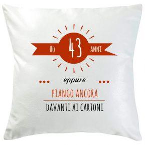 Cuscino personalizzato età sole