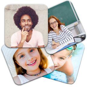 Sottobicchieri personalizzati foto