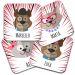 Sottobicchiere personalizzato animali