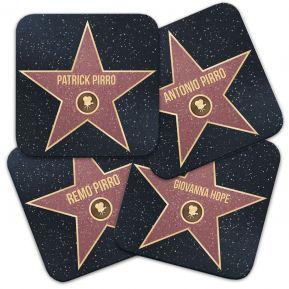 Sottobicchiere stella Walk of Fame