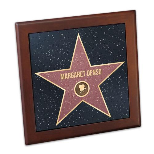 Sottopentola stella Walk of Fame personalizzato