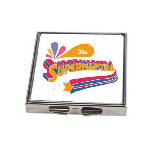 Specchietto personalizzato supermaestra