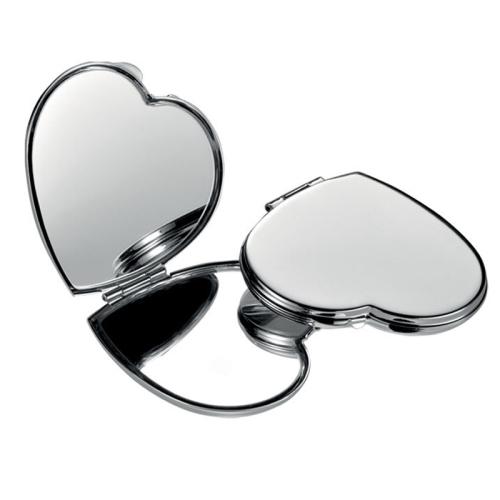 Specchio borsa cuore