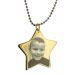 Collana stella foto personalizzabile