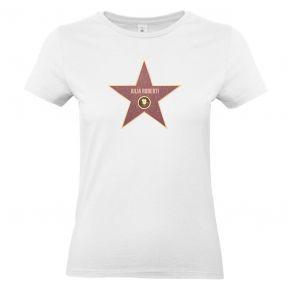T-shirt donna stella Walk of fame