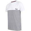 T-shirt Navy Style con nome ricamato