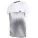 T-shirt marinière nome ricamato