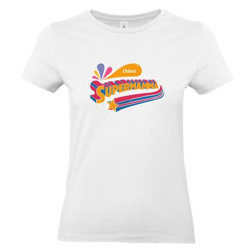 Maglietta personalizzata Supermamma