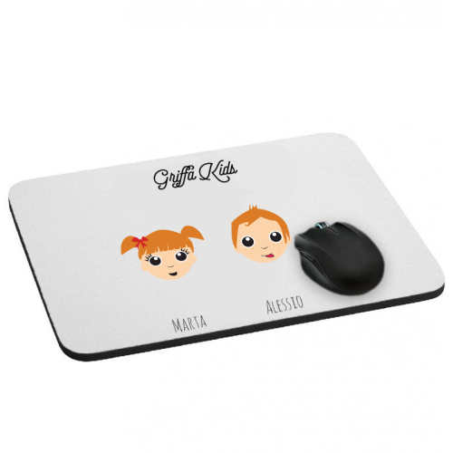 Tappetino mouse WeAreFamily personalizzato