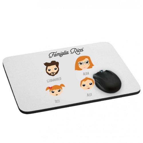 Tappetino per il mouse con avatar