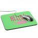 Tappetino mouse Hello personalizzato colorato