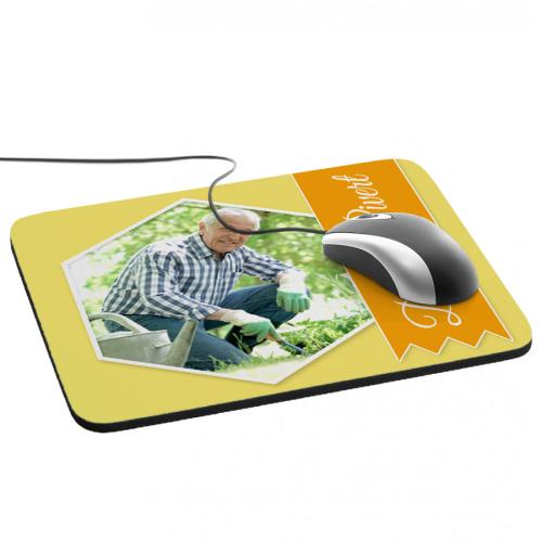 Tapptino mouse nastro foto giallo