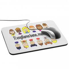 Tappetino mouse personalizzato Grazie maestra