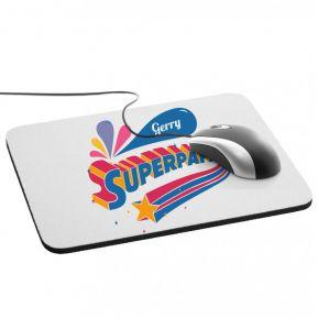 Tappetino mouse personalizzato Superpapà