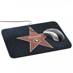 Tappetino mouse personalizzato stella Walk of Fame