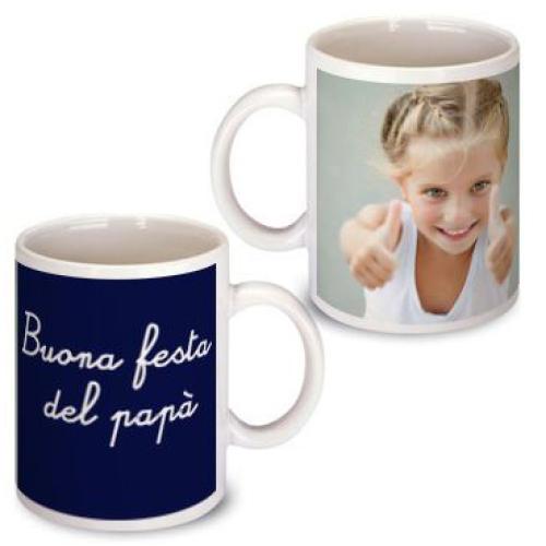 Un mug foto per il papà