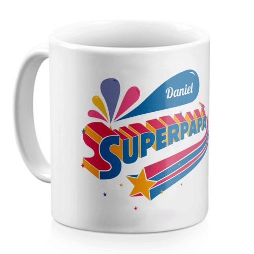Mug Super papà personalizzato