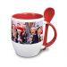 Tazza personalizzata con foto rossa