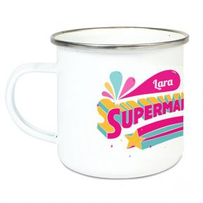 Tazza smaltata SuperMaestra