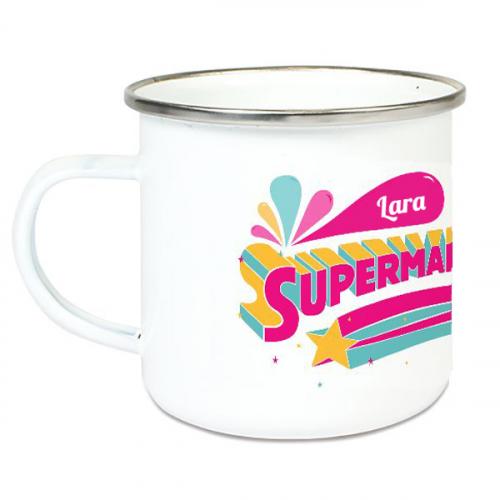 Tazza smaltata supermaestra