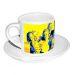 Tazzina da caffè personalizzata pop art