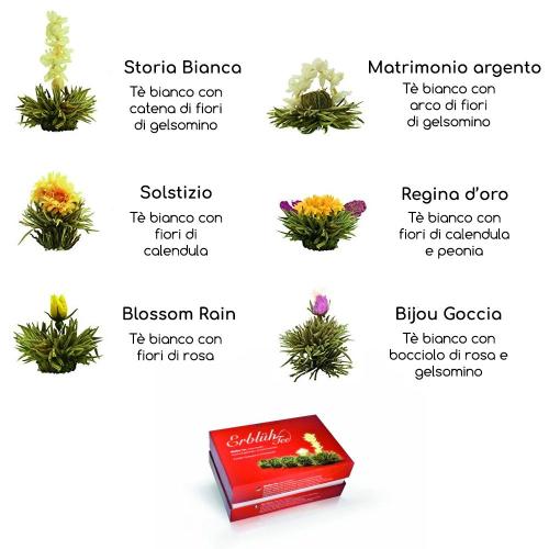 Fiori magici tè bianco